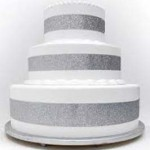 New York erotic Bakery-Bronx-silver pop out four feet high four feet round cake