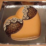 New York erotic Bakery-Staten Island Brown-lace-heart-shaped-Boobies-made-to-eat