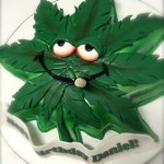 Atlanta-Georgia-Pot-leaf-shaped-cake